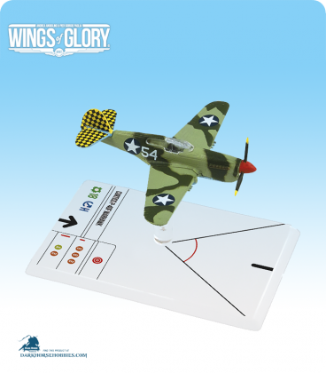Wings of Glory: WW2 Curtiss P-40F Warhawk (Lott) Airplane Pack