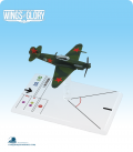 Wings of Glory: WW2 Yakovlev Yak-1 (Litvjak) Airplane Pack