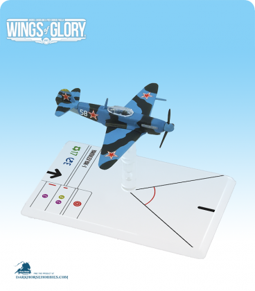 Wings of Glory: WW2 Yakovlev Yak-1 (Luganskij) Airplane Pack