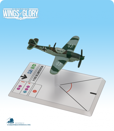 Wings of Glory: WW2 Messerschmitt Bf.109 K-4 (1./JG77) Airplane Pack