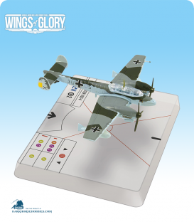 Wings of Glory: WW2 Messerschmitt Bf.110 C-4 (Schupp) Airplane Pack