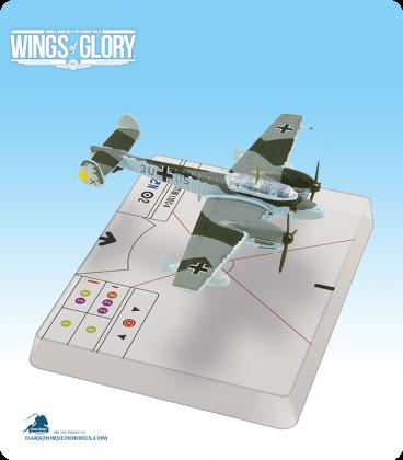 Wings of Glory: WW2 Messerschmitt Bf.110 C-4 (Schupp) Airplane Pack