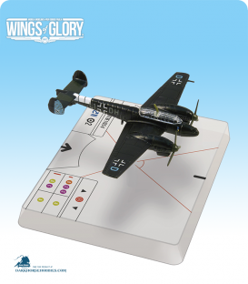 Wings of Glory: WW2 Messerschmitt Bf.110 C-4 (Radusch) Airplane Pack