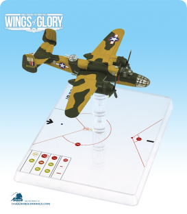 Wings of Glory: WW2 NA B-25C Mitchell (Bauer) Airplane Pack