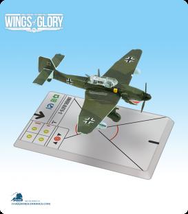Wings of Glory: WW2 Junkers Ju.87 B–2 Stuka (II./Sturzkampfgeschwader 77) Squadron Pack