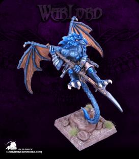 Warlord: Reptus - Gam-Nan, Gaan-Hor Elder (painted by Andrew Pieper)
