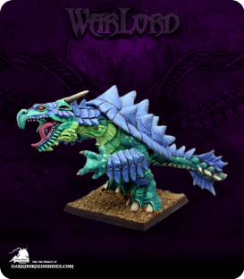 Warlord: Reptus - Dragon Turtle (painted by Anne Foerster)