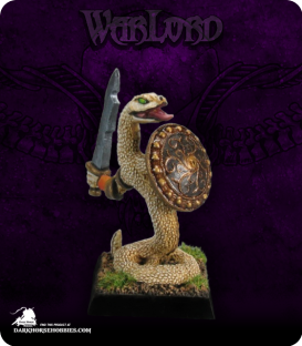 Warlord: Reptus - Nagendra Warrior (painted by Anne Foerster)