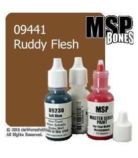 Master Series Paint: Bones Colors - 09441 Ruddy Flesh (1/2 oz)