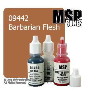 Master Series Paint: Bones Colors - 09442 Barbarian Flesh (1/2 oz)