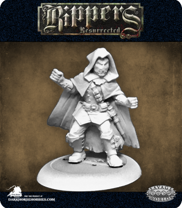 Savage Worlds: Rippers - Masked Crusader (Male)