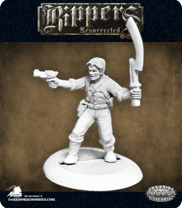 Savage Worlds: Rippers - Frazer's Fighters (Male)