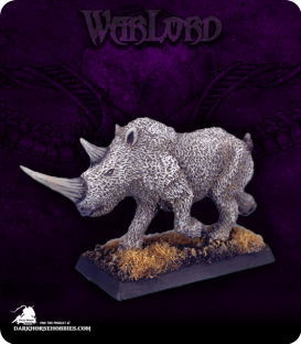 Warlord: Reven - Nhoolyan, Hunting Beast Solo (painted by Anne Foerster)