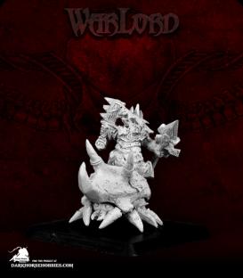 Warlord: Bloodstone Gnomes - Glaktu, Beetle Rider