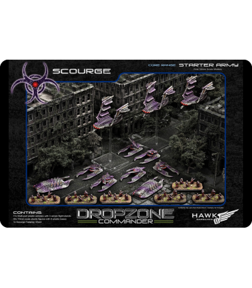 Dropzone Commander: Scourge Core Starter Army (In Plastic)