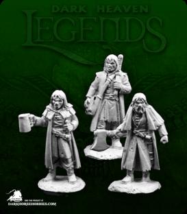 Dark Heaven Legends: Townfolk of Dreadmere - Mercenaries