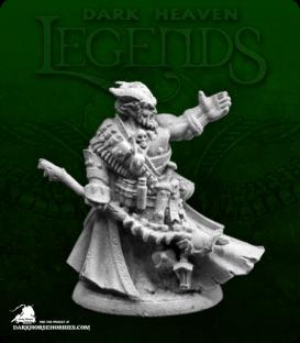 Dark Heaven Legends: Dreadmere - Vatanis, Maggotcrown Necromancer