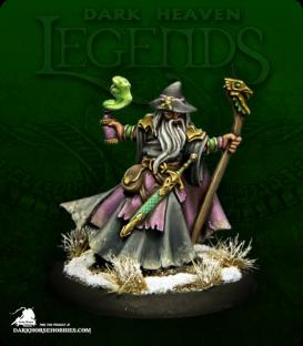 Dark Heaven Legends: Kelainen Darkmantle, Evil Wizard (painted by Anne Foerster)