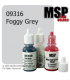 Master Series Paint: Core Colors - 09316 Foggy Grey (1/2 oz)