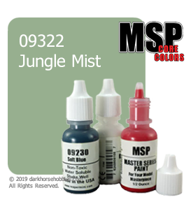 Master Series Paint: Core Colors - 09322 Jungle Mist (1/2 oz)