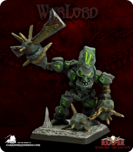 Warlord: Bloodstone Gnomes - Herald of Blood (painted by Martin Jones)