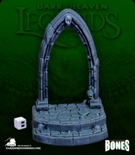 Dark Heaven Legends Bones: Graveyard Entryway
