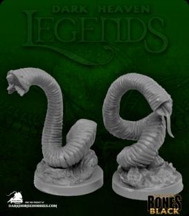 Dark Heaven Bones Black: Giant Leeches