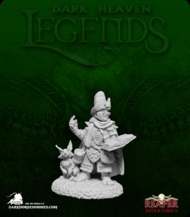 Dark Heaven Legends: Halfling Wizard