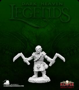 Dark Heaven Legends: Biff, Halfling Monk