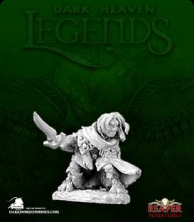 Dark Heaven Legends: Hellakin, Halfling Thief