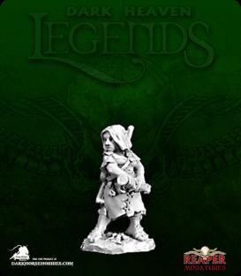 Dark Heaven Legends: Melantha, Female Halfling Adventurer
