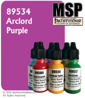 Master Series Paint: Pathfinder Colors - 89534 Arclord Purple (1/2 oz)