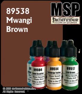 Master Series Paint: Pathfinder Colors - 89538 Mwangi Brown (1/2 oz)