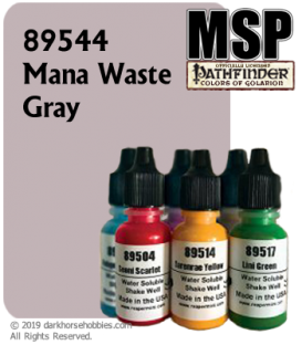 Master Series Paint: Pathfinder Colors - 89544 Mana Waste Gray (1/2 oz)