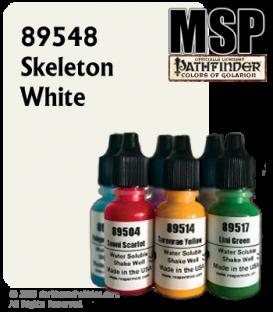 Master Series Paint: Pathfinder Colors - 89548 Skeleton White (1/2 oz)