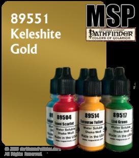 Master Series Paint: Pathfinder Colors - 89551 Keleshite Gold (1/2 oz)