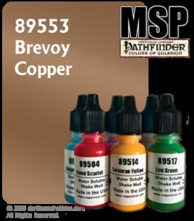 Master Series Paint: Pathfinder Colors - 89553 Brevoy Copper (1/2 oz)