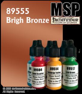 Master Series Paint: Pathfinder Colors - 89555 Brigh Bronze (1/2 oz)