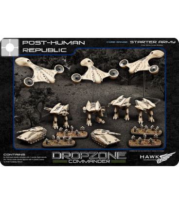 Dropzone Commander: PHR Core Starter Army (In Plastic)