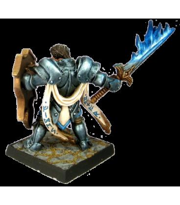 Warlord: Crusaders Almaran the Gold, Paladin With Flaming Sword