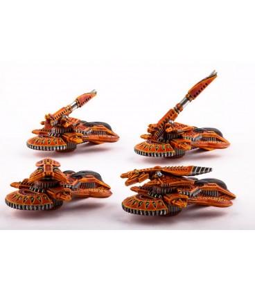 Dropzone Commander: Shaltari - Yari Light Grav-Tanks
