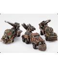 Dropzone Commander: Resistance - Gun Wagons (3)