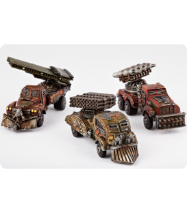 Dropzone Commander: Resistance - Storm Wagons
