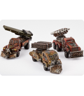 Dropzone Commander: Resistance - Storm Wagons (3)