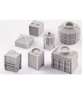 Dropzone Commander: Scenery - Aircon Units Pack