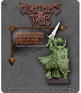 Avatars of War: Warthrone Lord of War with Great Shield