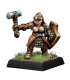 Warlord: Dwarves - Shield Maidens, Dwarf Adept (9-pack)