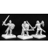 Warlord: Crusaders - Ivy Crown Skirmishers, Crusaders Adept (9-pack) (unpainted)