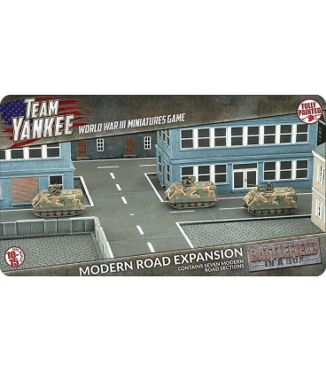 Battlefield In A Box: (Team Yankee) Modern Roads Expansion