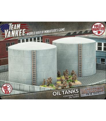 Battlefield In A Box: (Team Yankee) Oil Tanks